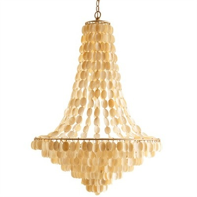 ARTERIORS Home Southampton Large 8 Light Iron / Shell ChandelierLights, Dining Room, Beach House, Shells Chandeliers, Large Chand, Southampton Large, Iron Shel Chandeliers, Arteriors Southampton, Large Shells