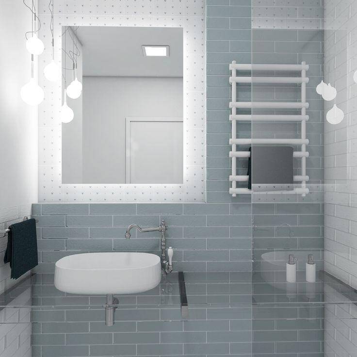 Retro koupelna PETIT  #bathroom #bathroomdesign #interiordesign #bathroomdecor #provencestyle #toilet #shower #tiles #umyvadlo #koupelna #whitestyle #ceramic #perfectodesign