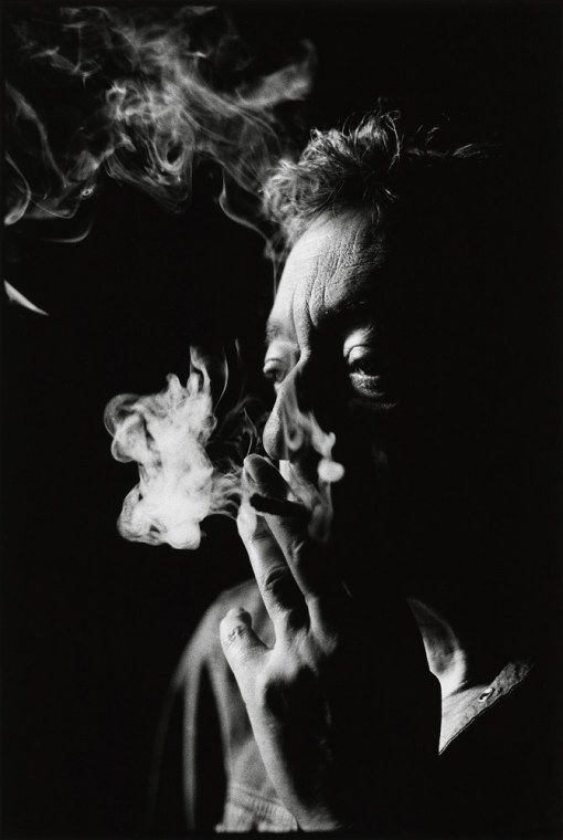 Nigel Parry Unpublished portraits of Gainsbourg