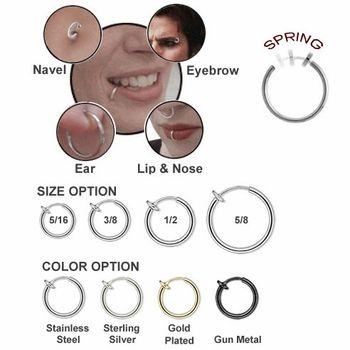 Fake piercing body jewlery $5 http://www.shecoolhecool.com/2009o121.html