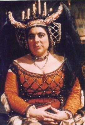 Miriam Margolyes as Infanta Maria Escalosa of Spain in The Black Adder