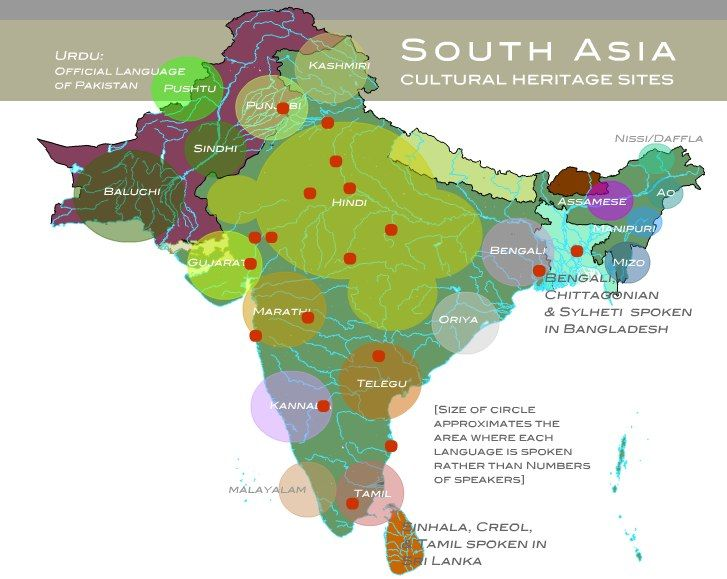 Languages of South Asia