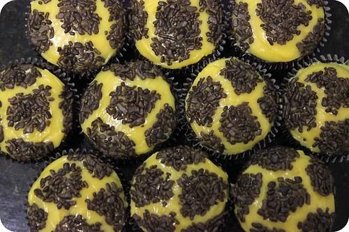 girafa cupcake