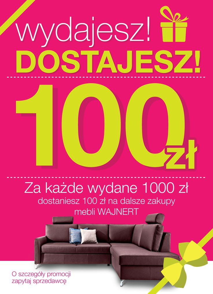 Plakat dla Mebloteki | www.pinkelephant.pl
