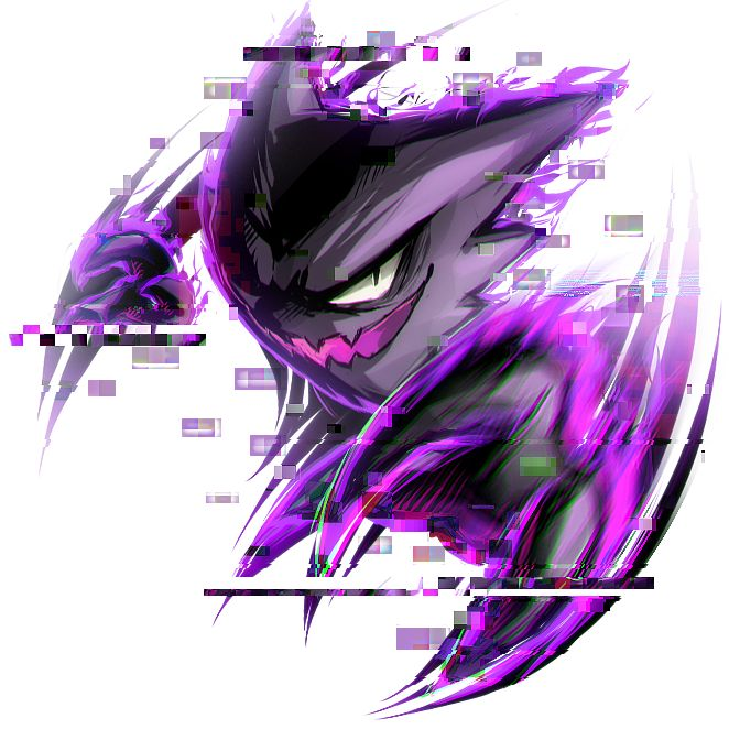 Haunter by =Kawiko on deviantART
