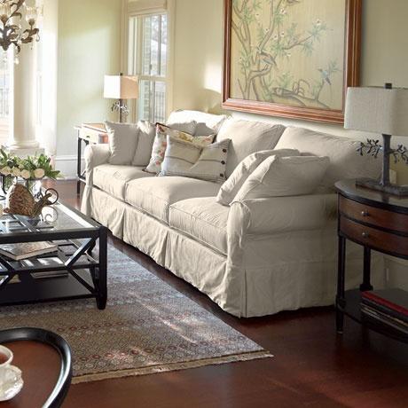 Arhaus Baldwin Slipcovered Sleeper Sofa