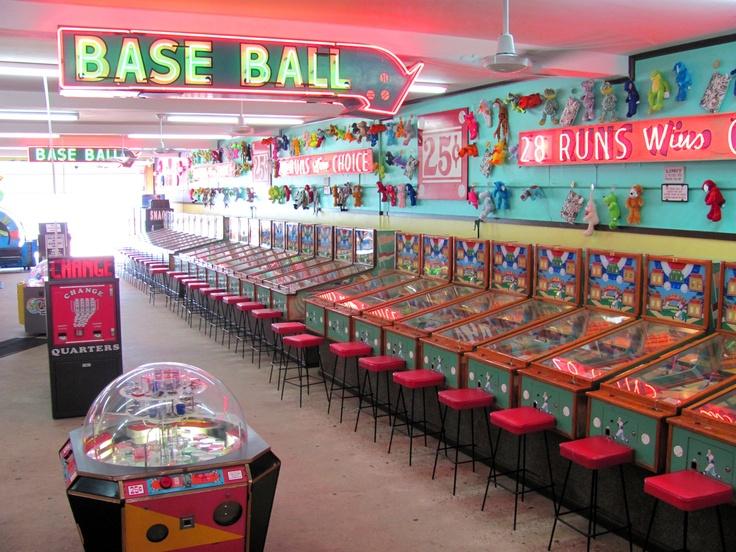 Myrtle Beach Arcade WANDERING Pinterest