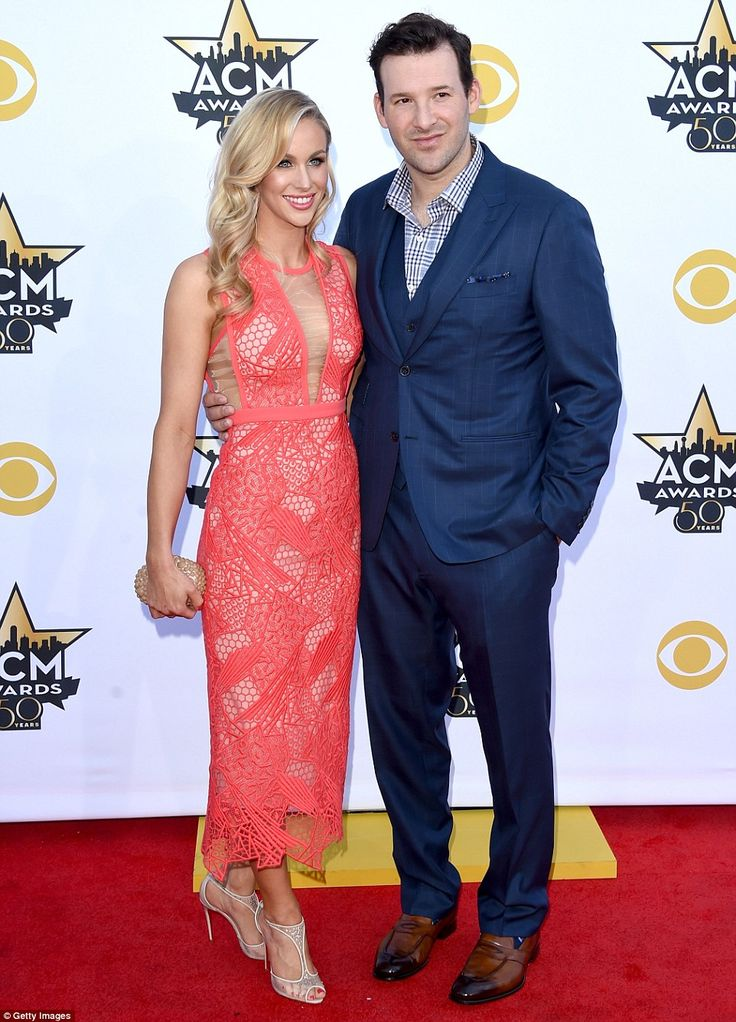 Texas natives: Dallas Cowboys football superstar Tony Romo and wife Candice Crawford were ...