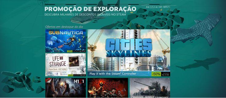 Steam: jogos em promoção até 1º de dezembro - http://www.showmetech.com.br/steam-jogos-em-promocao-ate-1o-de-dezembro/