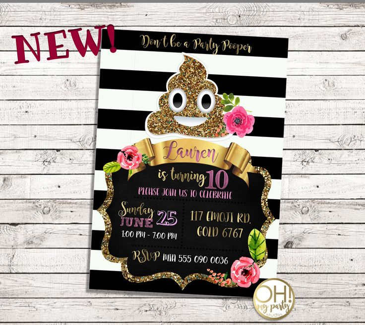 EMOJI Birthday Invitation, emoji invitation, emoji birthday, emoji party, emoji invitations, emoji invite, emoji, party emoji, emoji card by ohmypartystudio on Etsy https://www.etsy.com/listing/516536116/emoji-birthday-invitation-emoji
