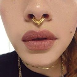Is it bad I kinda want this piercing? Nasal Septum