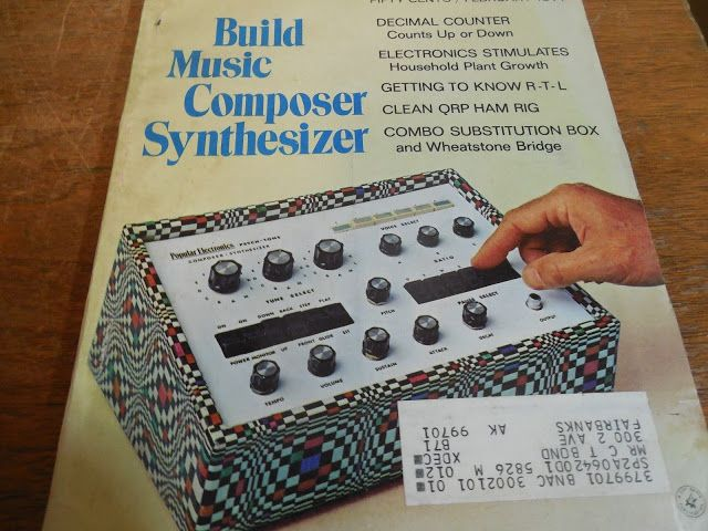 MATRIXSYNTH: Build a 'Psych-Tone' Musical SYNTHESIZER Book from...