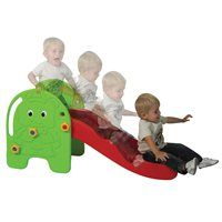Indoor / Outdoor Toddler Slide-This cute and inviting indoor/outdoor molded slide will have toddlers climbing and sliding all day long.