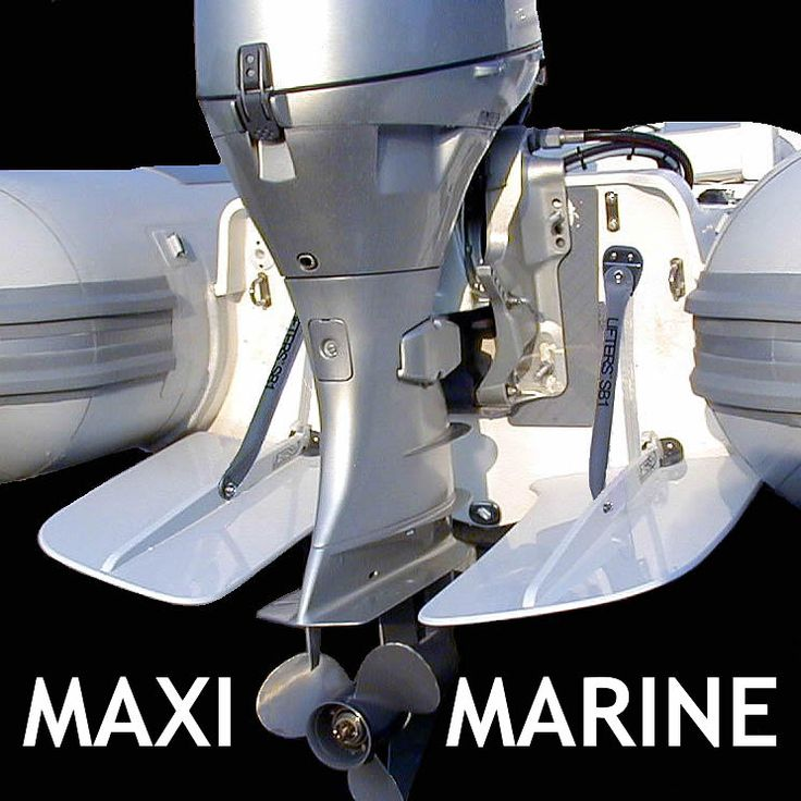 High Performance Trim Tabs for Inflatable Boat or Dinghy.
