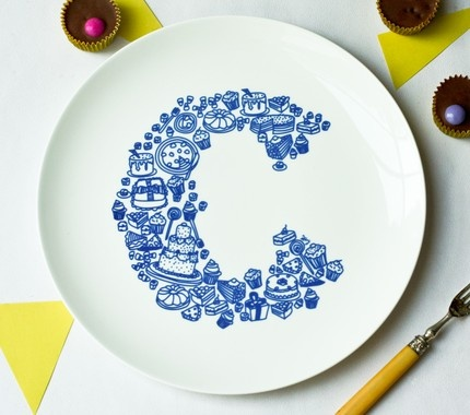C for Cake.