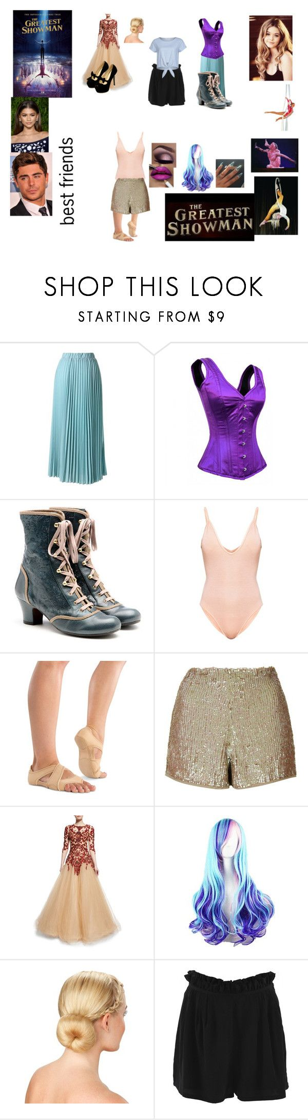 """""""Briella James- The Greatest Showman Oc"""" by iluvpolyvore-498 ❤ liked on Polyvore featuring Chicwish, Chie Mihara, Danshuz, Topshop, MAC Cosmetics, Marchesa, Sea, New York, Sparkz and TheGreatestShowman"""