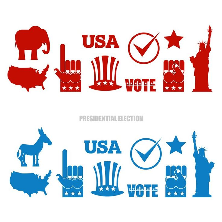 USA Presidential Election Day 2016, the best vector graphics & images only with Colourbox.