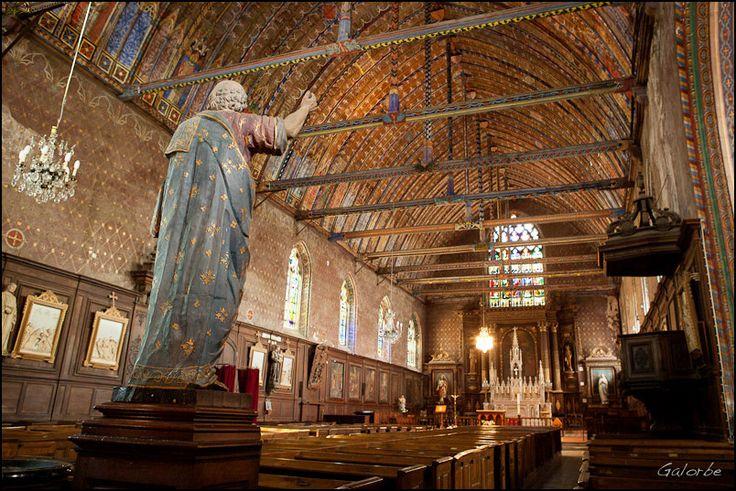 L'église d'Illiers-Combray. Le Combray de Marcel Proust