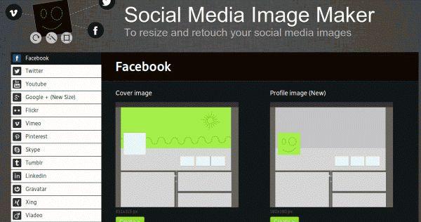 Um cabeçalho para Facebook, uma foto no Twitter, outro header no Instagram, o enorme do Google Plus… cada rede social solicita criar fotos ...