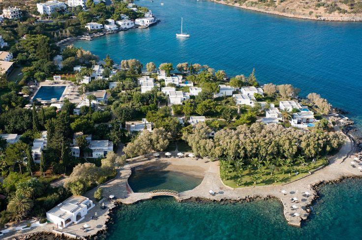 Aerial view of Minos Beach...#summer #holidays