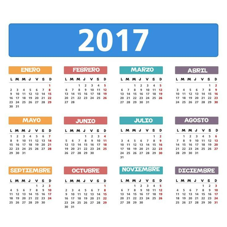 1000+ images about calendarios 2017 on Pinterest