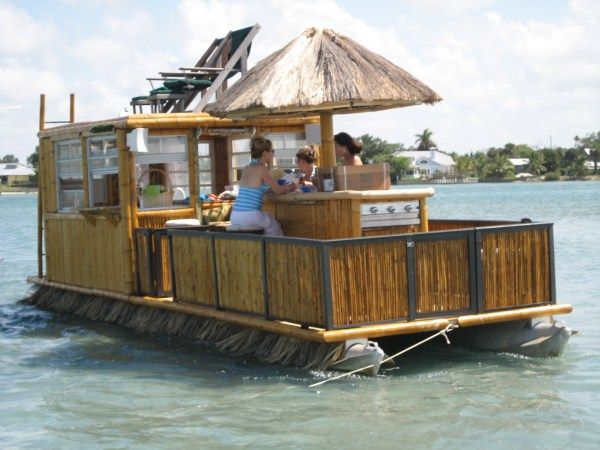 Homemade Pontoon Party Barge Unique Birthday Party Ideas And Themes