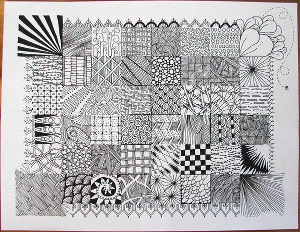 Zentangle Sampler by Joanieponytail: Idea, Zentangle Samplers, Photo Sharing, Google Search, Art, Drawing Doodles Zentangles, Zentangle Doodle, Drawing Zentangle, Zentangle Patterns