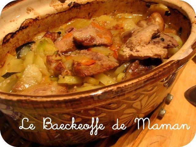 Popotte entre Potes » Deuxième recette alsacienne: Le baeckeoffe de Maman