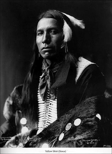 1. a Piegan Indian with his Medicine Pipe. It was made in 1910 by Edward S. Curtis. 2. Richard White Bull - Oglala - 1899 3. Chiricahuah Apache prisoner of war Isabelle Perico Enjady in a puberty...