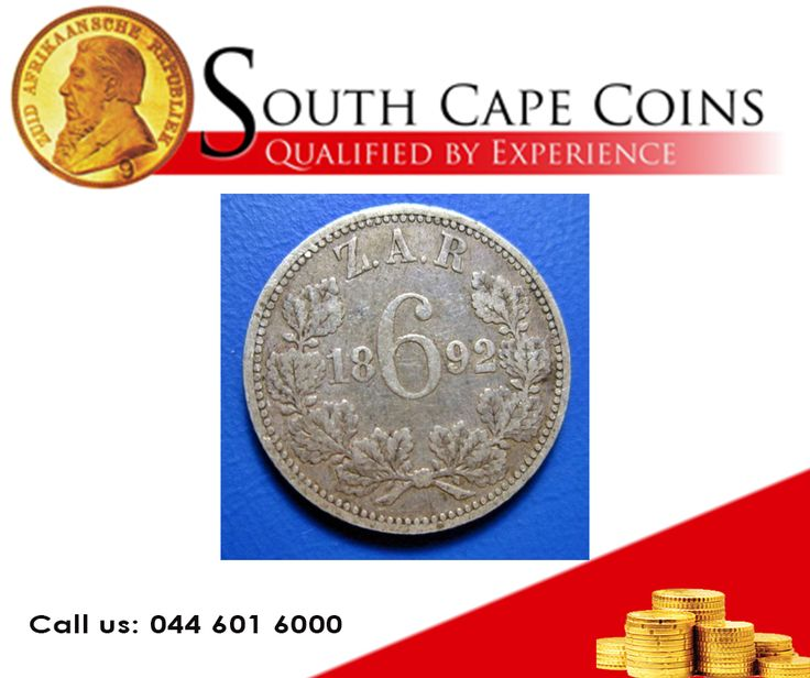 1892 ZAR Sixpence VF 20. Call us for more info: 044 601 6000 or Visit our website: besociable.link/yU #coins, #investment, #rarecoins