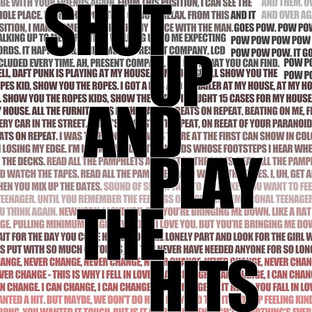 """My submission for the """"Shut Up and Play The Hits"""" poster! Really wanna see this. #shutupandwin - @rqhs- #webstagram"""