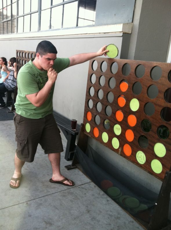 Life-size Jenga and Connect Four?! Yes Please! « Weddingbee Boards