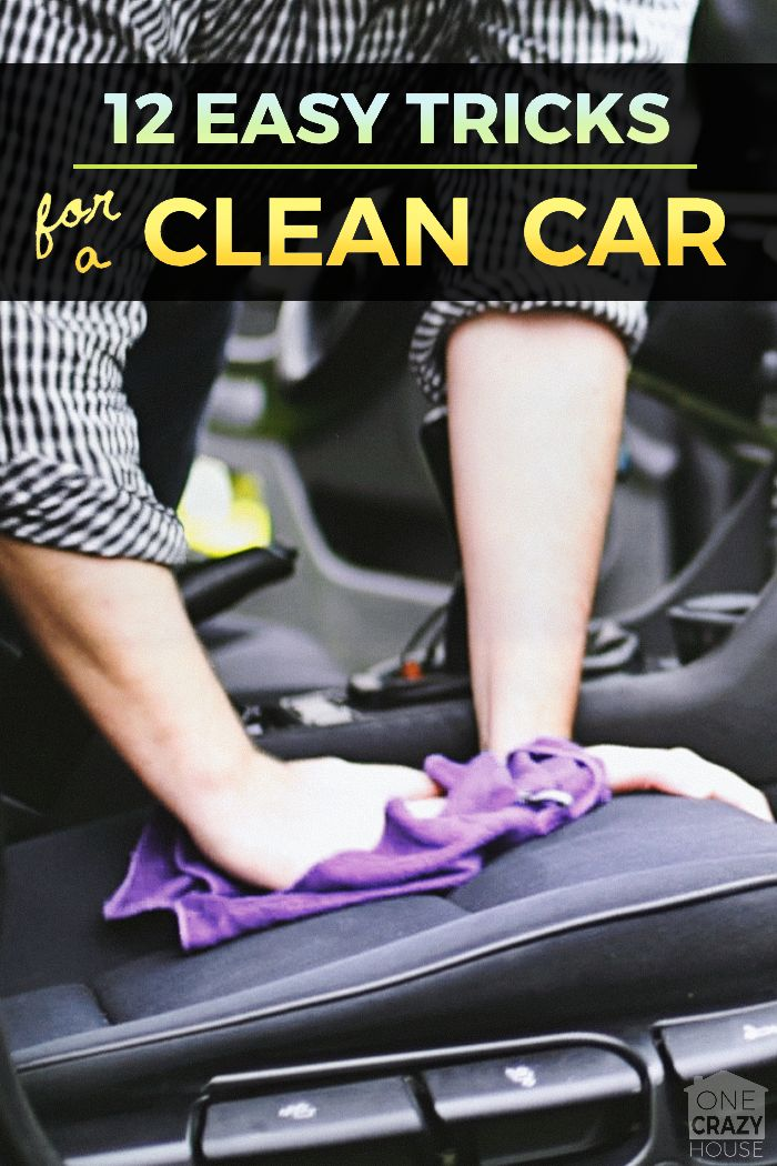 CLEVER CAR HACKS - Cause no one wants to spend all afternoon cleaning!
