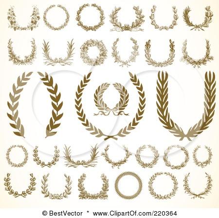 """olive wreath wedding """"logo"""" ideas"""