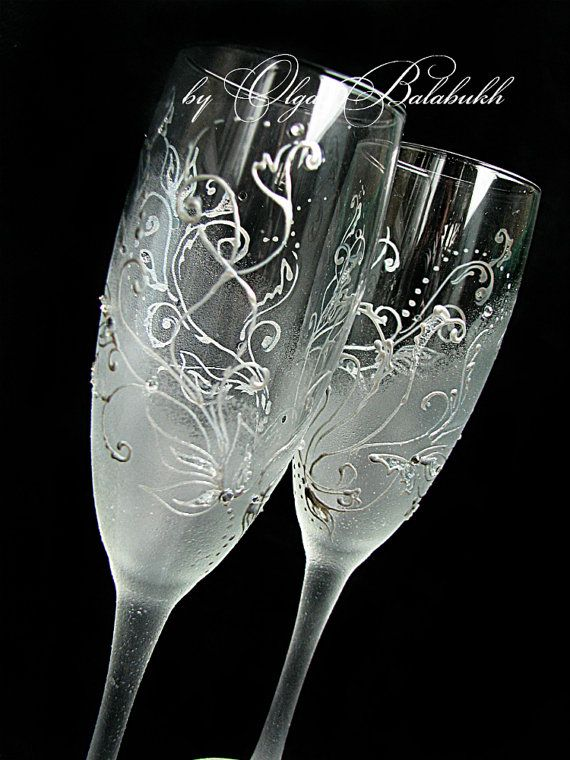 41 best wedding glasses images on Pinterest Wedding glasses