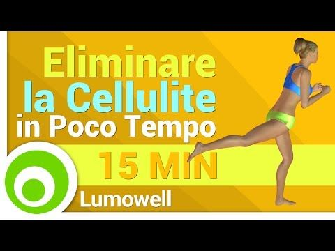 Eliminare la Cellulite in Poco Tempo - YouTube