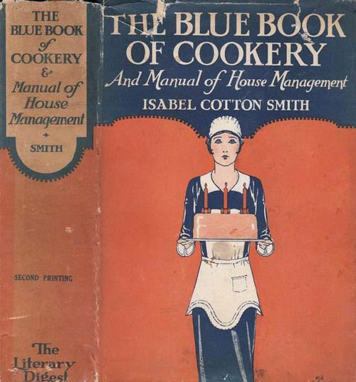 A vintage cook book from 1929.