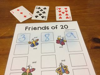 This Friends of 20 activity has six game options – three to play with a group, and three for students to play independently. Lots of scope for differentiation. You could use these activities as part of a week-long topic on addition where students are asked to compare, order and make collections to 20. Play a different game each day. Available at Project Nature-Ed's Designed by Teachers store.