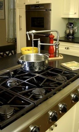 chefs faucet and island cooktop must have and with sink