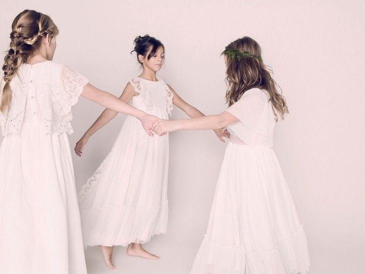 Nanos Comunión, vestidos de Comunión románticos y chics - DecoPeques