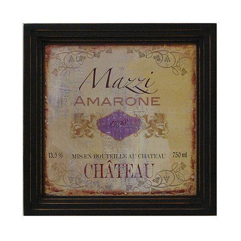 Vintage Wine Label Print