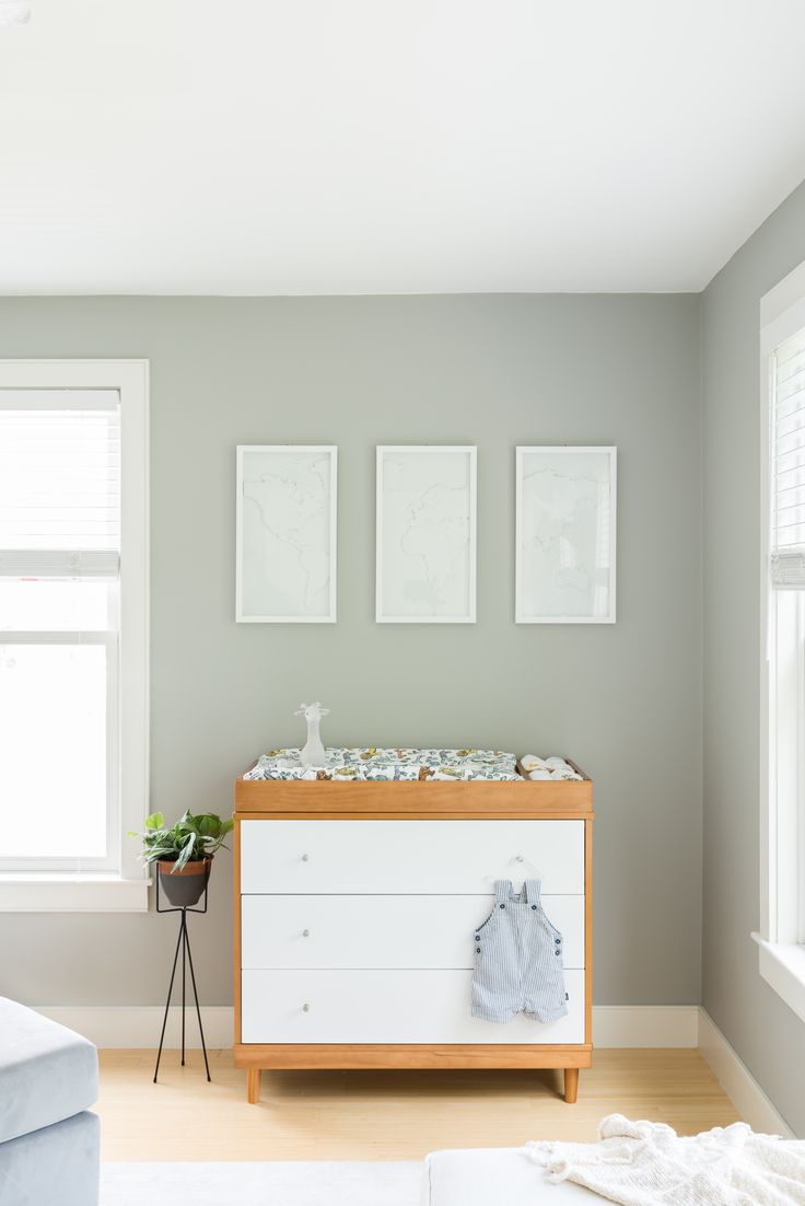A Bright Nursery For AllModernu0027s Design Director. Modern Changing TablesBright  ...