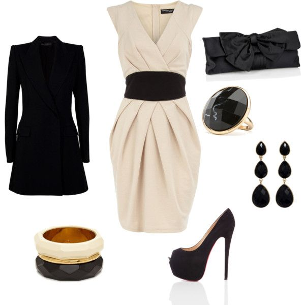 Night Out. Love the dressShoes, Style, Black Belt, Clothing, Dates Outfit, Fashionista Trends, Black White, Dates Night, The Dresses