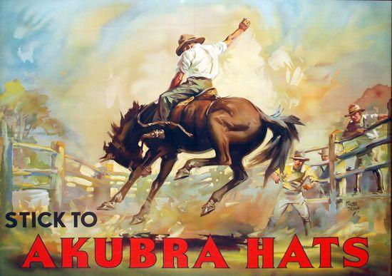 Stick to Akubra Hats