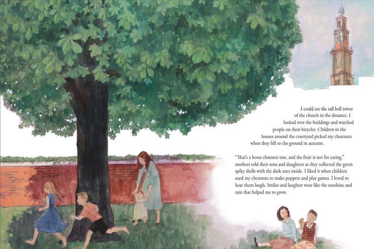 Anne Frank and the Remembering Tree.  Written by Rabbi Sandy Eisenberg Sasso and illustrated by Erika Steiskal, A story of Anne Frank and her sister Margot, who loved a tree, and the tree who promised never to forget them. An age-appropriate way to introduce children ages 6–9 to the Jewish Holocaust. Written by Rabbi Sandy Tells a tale of renewal and the power of memory from the perspective of a famous tree. Coming in March 2015.