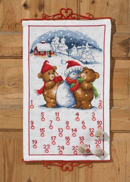 Bamser og snemand - julekalender