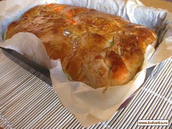 Рецепт: Итальянский овощной пирог