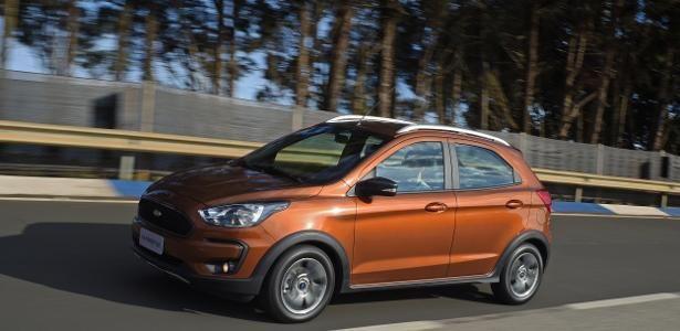 Autonews Detalhes Do Ford Ka Freestyle Aparecem Na India La Ele