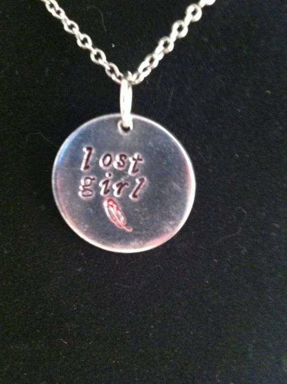 Peter Pan inspired Lost Girl pendant by DinglehopperDesigns
