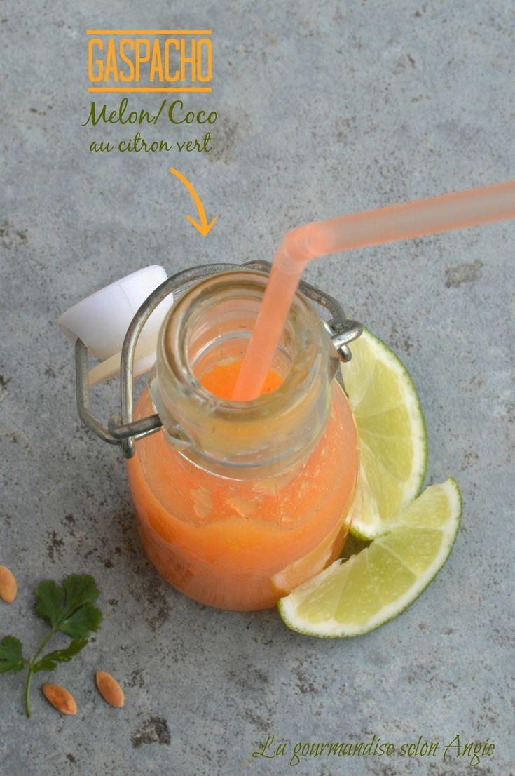 gaspacho melon coco citron vert 1